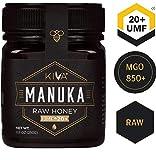 Miel de Manuka non pasteurisé Kiva, certifiée UMF 20+ (MGO 825+) - Nouvelle Zélande (250 g)