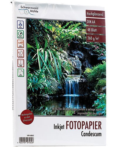 Papier photo double face brillant A4 - 260 G