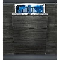 Siemens iQ500 SR656D00PE Totalmente integrado 9cubiertos A++ lavavajilla - Lavavajillas (Totalmente integrado, Slimline (45 cm), Acero inoxidable, Botones, 1,75 m, 1,65 m)