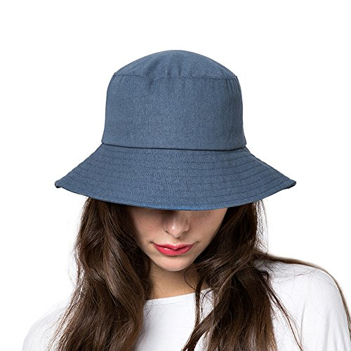 253d1321e71 Bucket Hat Womens Summer Sun Hats Foldable Wide Brim UV Protection Safari  Fisherman Caps with Boonie