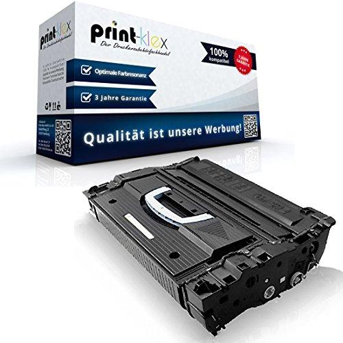 Print-Klex Kompatible Tonerkartusche für HP LaserJet 9040 MFP 9040 N 9040 Series 9050 9050 DN 9050 MFP 9050 N 9050 Series 43x HP43X C8543X HP43 Schwarz Black - Easy Plus Serie