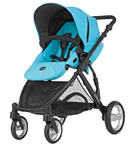 Britax Poussette Double - B-Dual - Blue Atoll - Second siège non inclus