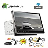 EINCAR 10,1-Zoll-Android 7.1-System Car Stereo Double 2 Din in Dash GPS Navigation Bluetooth Head Unit Support Telefon Spiegel kapazitiven Touch Screen SWC WiFi mit DVD CD-Player + Free Backup-Kamer