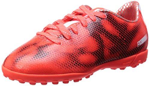 Größe Fußball-stollen, Jungen 5 (adidas F10 Turf, Jungen Fußballschuhe, Rot (Solar Red/Ftwr White/Core Black), 38 EU (5 Kinder UK))
