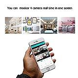 Decdeal WiFi IP Kamera Baby Monitor Überwachungskamera Sicherheitskamera, 720P, IR Nachtsicht, 2 Wege Audio, App IOS/Android/PC - 5