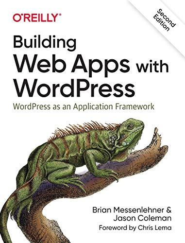 51zHopjSNUL - Building Web Apps with WordPress: WordPress as an Application Framework
