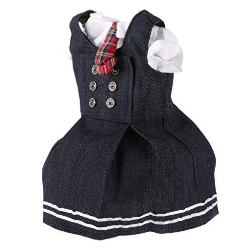 Gazechimp Vestido Lindos de Ligas + Camisa para 18inchs Muñeca Americana Muchacha