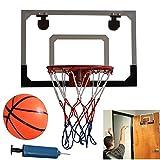 Zerone Mini Basketball Hoop Toy, Kids Indoor Basketball Hoop Play Set, Indoor Mini