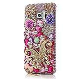 Spritech (TM) 3d hecho a mano colorido Diamond Bling Diseño especial de funda diseño 1 Talla:Samsung Galaxy S7 Edge