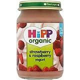 Hipp biologique et Framboise yogourt 7mois + (160g) - Paquet de 2