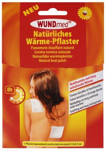 5 Stück Wärmepflaster - langanhaltende Wärme bis zu 8 Stunden, schmerzlindernd, muskelentspannend, hypoallergen - Maße: 13 x 9,5 cm