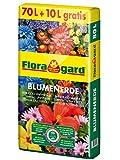 Floragard Blumenerde 70 L + 10 L gratis, 80 L, Universalerde f. Balkon-, Kübel- und Zimmerpflanzen -