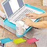YJJSL Faltender einfacher Kleiner Laptop-Schreibtisch, kreatives faules Bett, Das faltenden Computer-Schreibtisch lernt (Farbe : C)