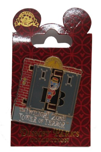Disney Pin #45806: Twilight Zone Tower of Terror (Stitch Causing Trouble) 3D by Disney -