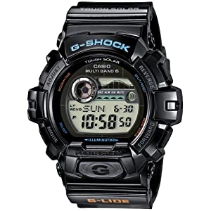 G-Shock Men's Solar Strap Watch GWX-8900-1ER de G-Shock