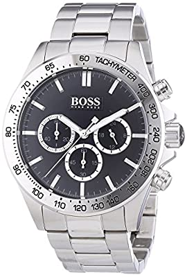 HUGO BOSS Men's Chronograph Quartz Watch with Stainless Steel Bracelet - 1512965