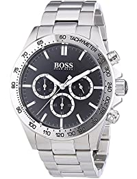 HUGO BOSS Men's Chronograph Quartz Watch with Stainless Steel Bracelet – 1512965