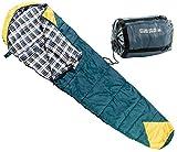 Semptec Urban Survival Technology Frühlings-Schlafsack: Mumien-Schlafsack, 225 x 85 cm (Schlafsack mit Reißverschluss)