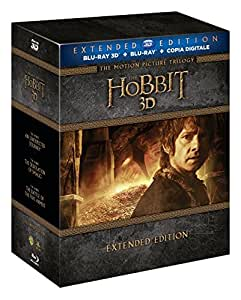Lo Hobbit - La Trilogia (3D) (Extended Edition) (6 Blu-Ray 3D+9 Blu-Ray + Copia Digitale);The Hobbit - An Unexpected Journey