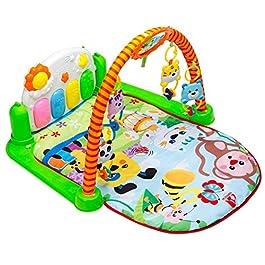 3 in 1 Pianoforte per bambini Play Play Ginnastica Musica e Luci