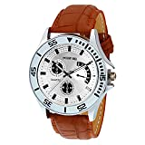 Golden Bell Analogue White Dial Men's Wa...