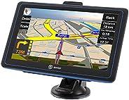 LKW Navi Navigationsgerät für Auto SIXGO Navigation Navigationssystem PKW 7 Zoll Kostenloses Kartenupdate Frei