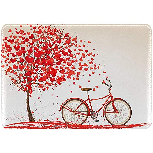 Herzen Baum Fahrrad Leder Pass Inhaber Cover