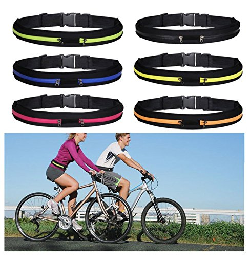 stryser, Gürteltasche universal, Gürtel-Running, Sport, Korridore, Rennen, Radfahren Gelb
