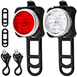 Best Bicycle Lights - Ascher Rechargeable LED Bike Lights Set - Headlight Review