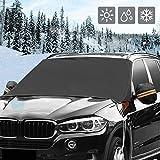 Tianya Auto Abdeckung Schneeschutz Frostsichere Sonnenblende Auto Windschutzscheibe Schneedecke Magnetic Waterproof Auto Ice Frost Sonnenschutz Beschützer Eisschutz Hitzeschutz