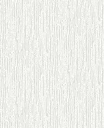 BHF FD30907 Heavy Bark Paintable Wallpaper - Pure White
