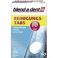 Blend-A-Dent - Pastillas De Limpieza, Frescor De Larga Duración (2 Paquetes De 60 Unidades)