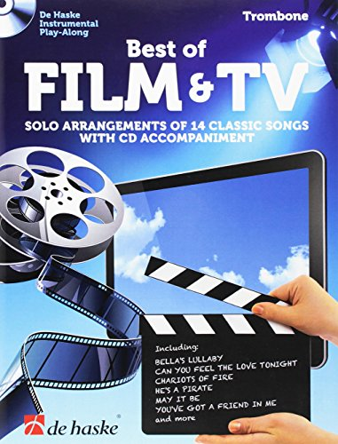 Best of Film & TV Posaune: Solo Arrangements of 14 Classic Songs with CD Accompaniment