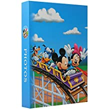 Set of 3 Photo Albums with Sleeves &Disney Mickey Minnie Mouse, 300 photos 10 x 15 cm
