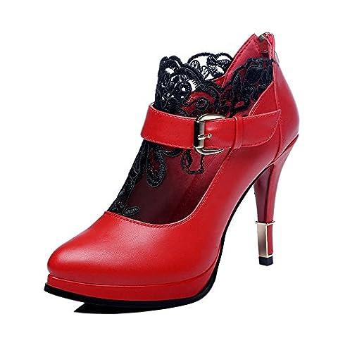Centenary , Damen Stylish , Rot - rot - Größe: 37 EU