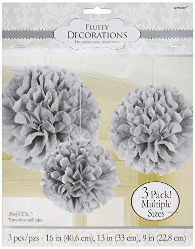 m flauschig Seidenpapier Dekorationen ()