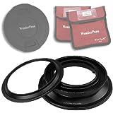 WonderPana Absolute Adaptador de Filtros para el Lente Olympus 7-14mm f/4.0 Zuiko ED Zoom (OM-4/3 Formato)