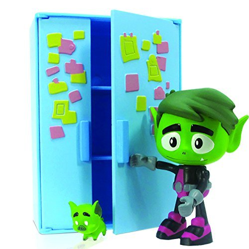 inch Beast Boy Figure with Fridge by Teen Titans Go! ()