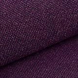 NOVELY® AUEN Premium Möbelstoff   Webstoff  fein Gewebter Polsterstoff   Meterware   Bezugsstoff   23 Farben … (10 Lila)