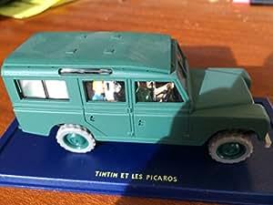 Voiture Tintin,TINTIN ET LES PICAROS (Le Land Rover du général Tapioca)
