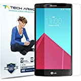 Tech Armor LG G4 High Defintion (HD) Clear Screen Protectors - Maximum Clarity and Touchscreen Accuracy [3-Pack] Lifetime Warranty