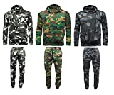 Mens-Game-Camouflage-Camo-Tracksuit-Hoodie-Jogging-Bottom-Jogger-Top-Jumper-Fishing-Hunting-Camping