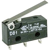 Microinterruptor CHERRY SPDT, Palanca DB1C-A1LC