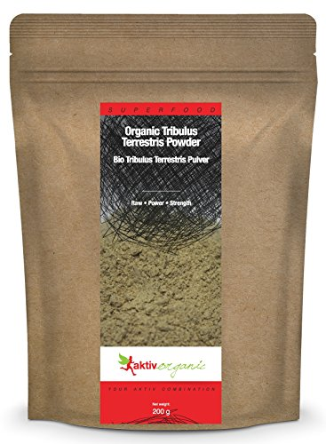 Aktiv Organic Tribulus Terrestris en poudre, 200g, BIO