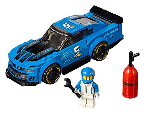 Lego 75891 Speed Champions Chevrolet Camaro Zl1 Race Car Building Kit, Colourful