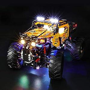 BRIKSMAX Kit di Illuminazione a LED per Lego Technic Power Fuoristrada X-Treme,Compatibile con Il Modello Lego 42099… 0716852282319 LEGO