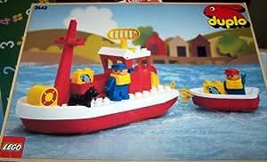 LEGO 2643 lego DUPLO Schiff mit Anhänger (Alter 2