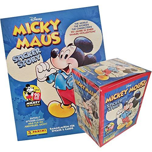 Panini Disney Micky Maus - Hybrid - 1 Display(50 Tüten) + 1 Album Hybrid-display