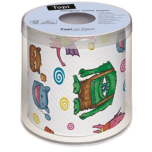 PAPER+DESIGN Toilettenpapier FSCMix 200 Bl. Topi Monster