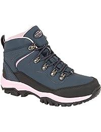 Botas de senderismo de mujer, ligeras, impermeables, talla 36 a 41